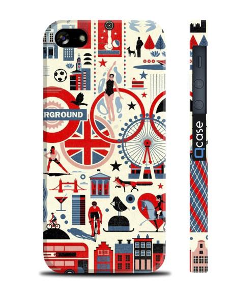 Kryt pro iPhone SE/5s/5 - London