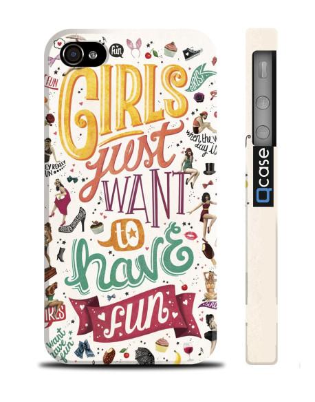 Kryt pro iPhone 4s/4 - Girls