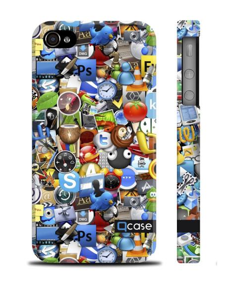 Kryt pro iPhone 4s/4 - Logos