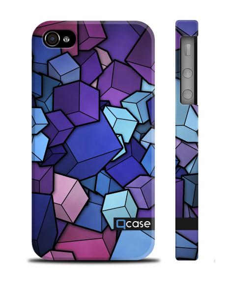 Kryt pro iPhone 4s/4 - Cubes