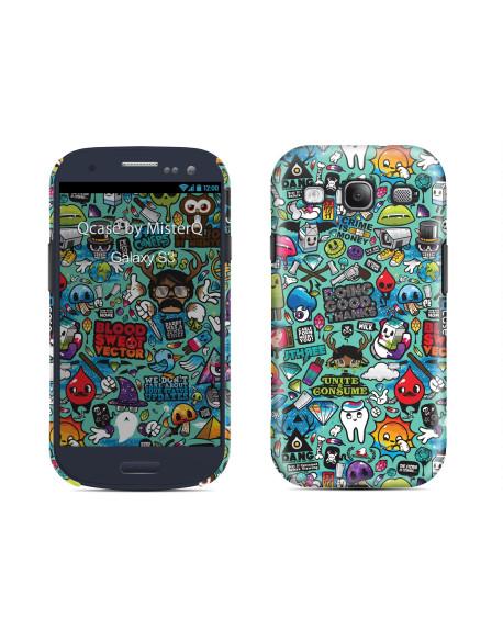 Kryt pro Galaxy S3 - Clipart