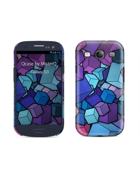 Kryt pro Galaxy S3 - Cubes