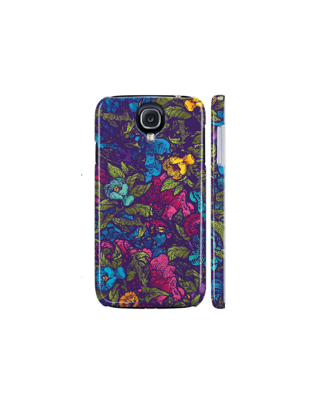Kryt pro Galaxy S4 - Flowers