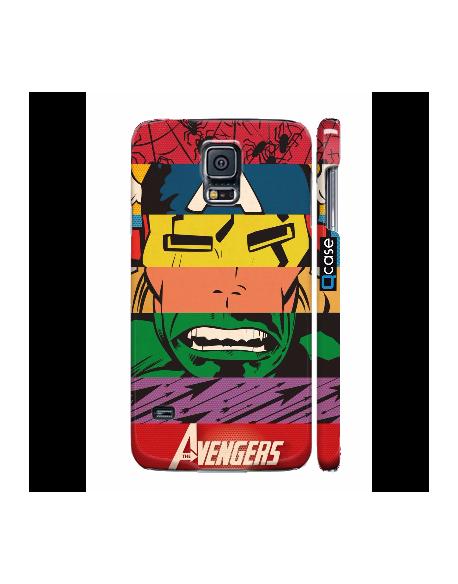 Kryt pro Galaxy S5 - Avengers