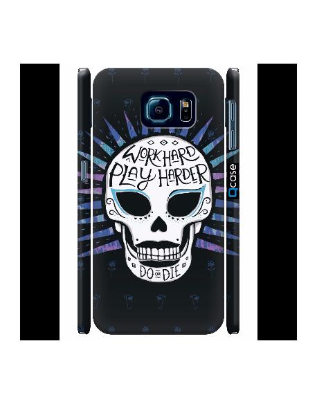 Kryt pro Galaxy S6 - Skull