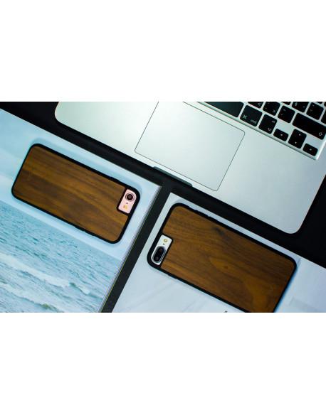Dřevěný kryt pro iPhone 8,7 Plus - Walnut