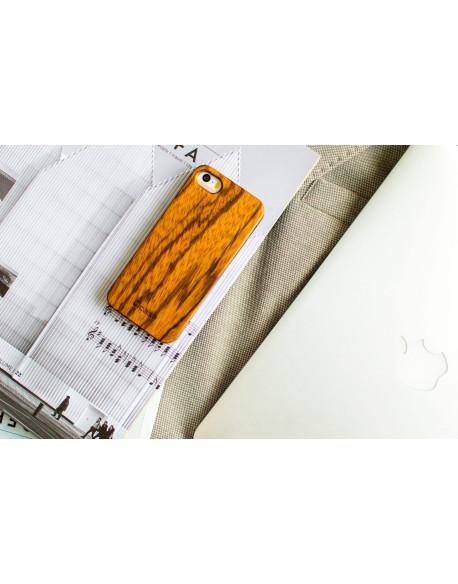 Dřevěný kryt pro iPhone SE - Zebrano