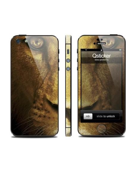 Samolepka pro iPhone SE/5s/5 - Lion