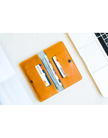 Peněženka pro iPhone 8 - ENTRY (Brown)