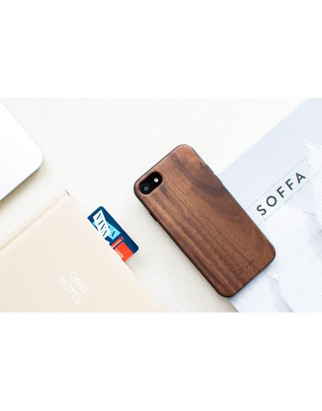 Dřevěný kryt pro iPhone 8,7 - Walnut