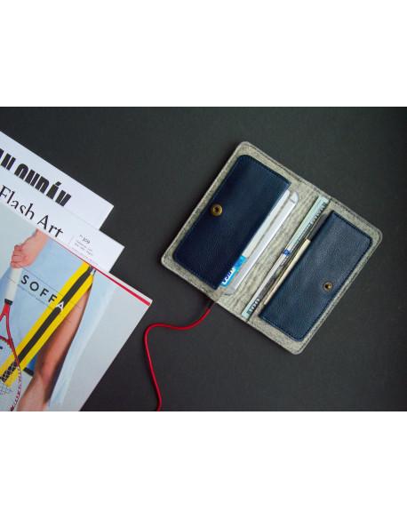 Peněženka pro iPhone 7/6s - HANDY (Blue)