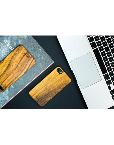 Dřevěný kryt pro iPhone 8,7 - Zebrano