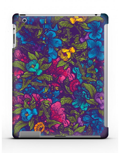 Kryt pro iPad 4 // Flowers