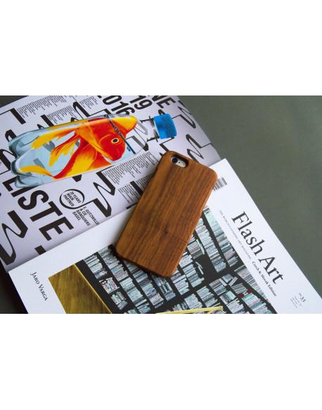 Dřevěný kryt pro iPhone 6s Plus- Walnut