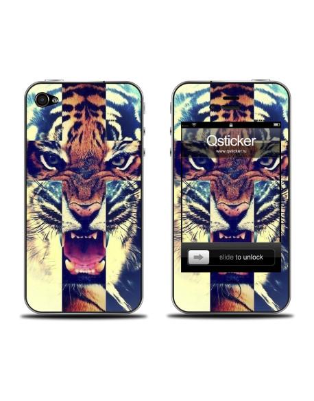 Samolepka pro iPhone 4/4S - Tiger