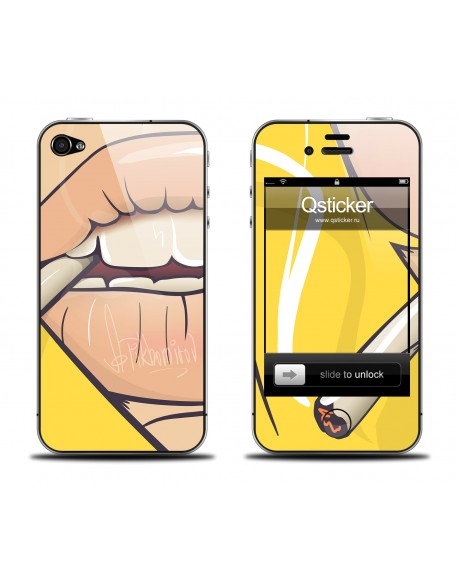 Samolepka pro iPhone 4/4S - Lips
