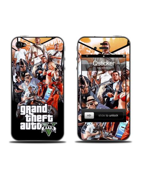 Samolepka pro iPhone 4/4S - GTA
