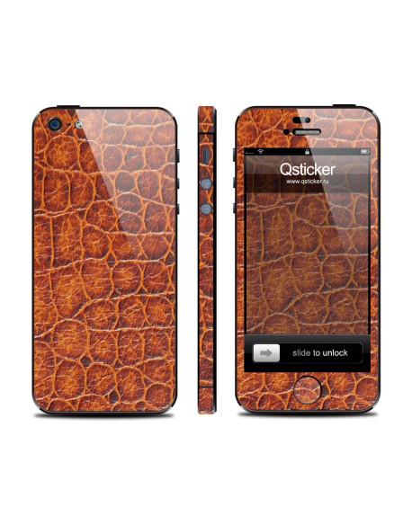 Samolepka pro iPhone SE/5s/5 - Aligator