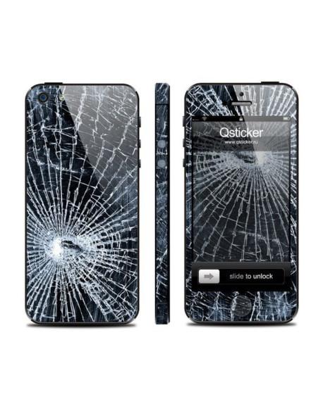 Samolepka pro iPhone SE/5s/5 - Glass