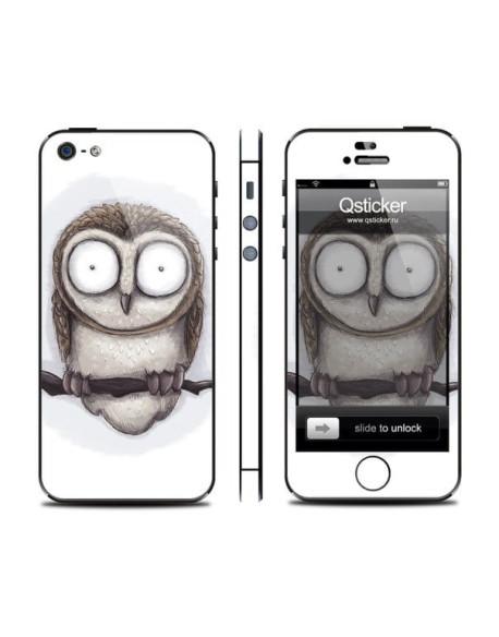 Samolepka pro iPhone SE/5s/5 - Owl