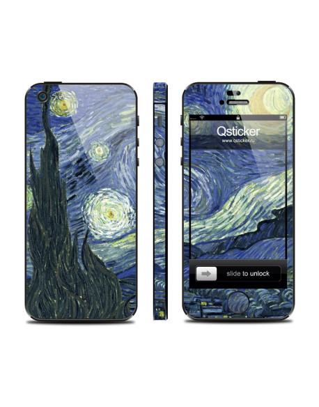Samolepka pro iPhone SE/5s/5 - Van Gogh