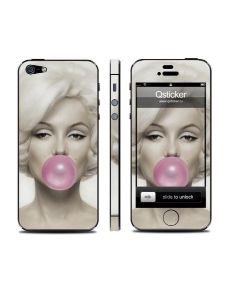 Samolepka pro iPhone SE/5s/5 - Monroe