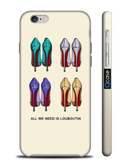 Kryt pro iPhone 6s/6 - Louboutin