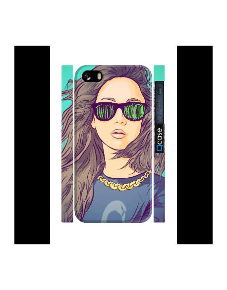 Kryt pro iPhone SE/5s/5 - Girl