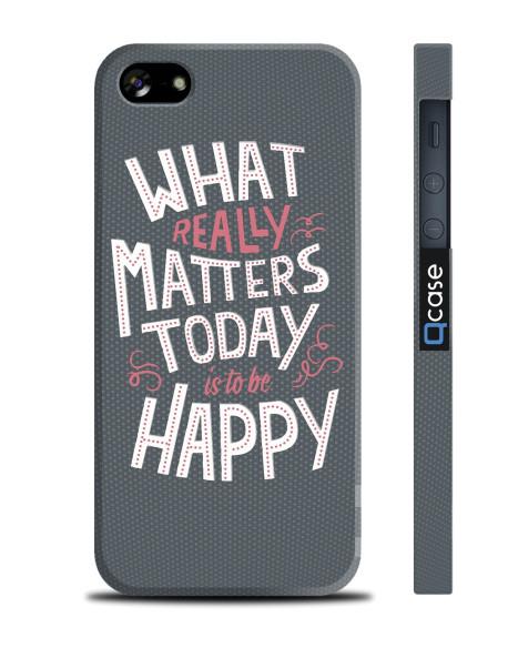 Kryt pro iPhone SE/5s/5 - Happy