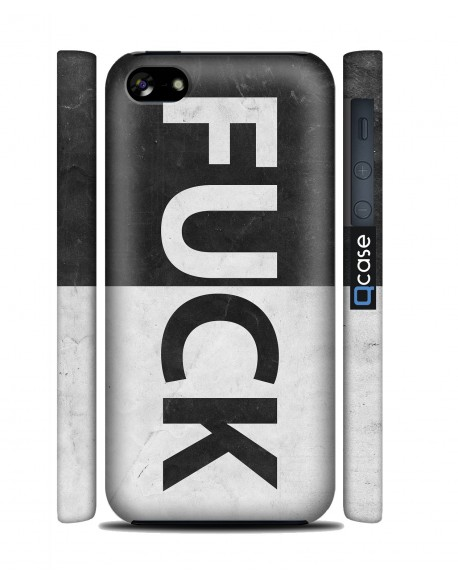 Kryt pro iPhone 5c - FUCK