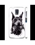 Kryt pro Galaxy S4 - Doberman