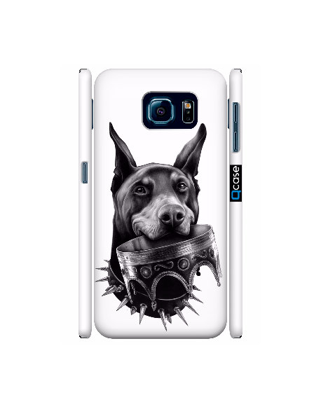 Kryt pro Galaxy S6 - Doberman