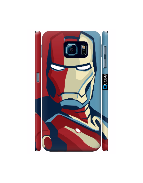 Kryt pro Galaxy S6 - Iron Man