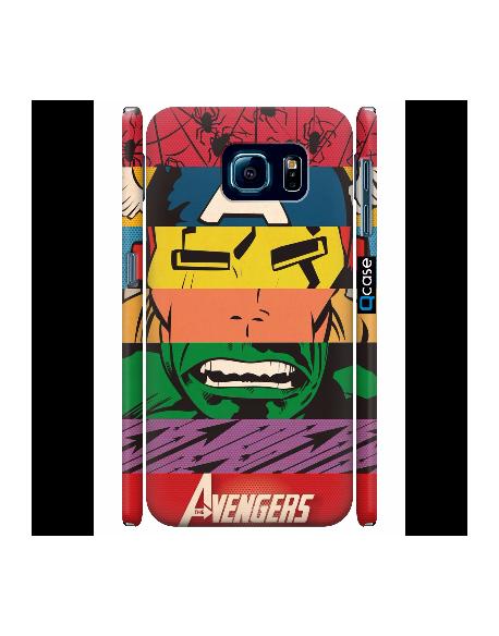 Kryt pro Galaxy S6 - Avengers