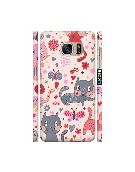 Kryt pro Galaxy S7 - Cats