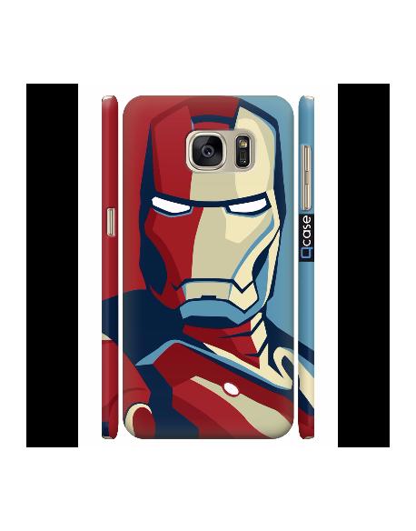 Kryt pro Galaxy S7 - Iron Man