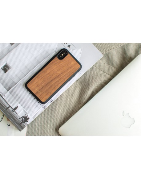 Dřevěný kryt pro iPhone X - Walnut