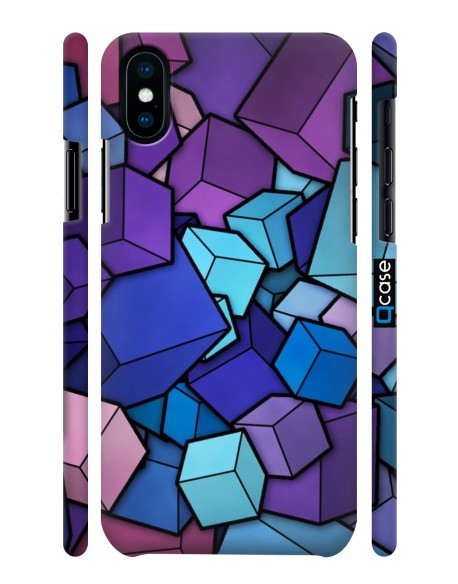 Kryt pro iPhone X & Xs - Cubes