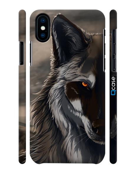 Kryt pro iPhone X & Xs - Wolf