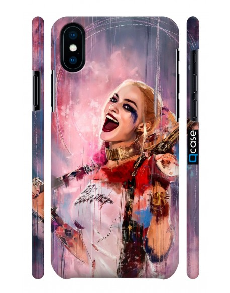 Kryt pro iPhone X & Xs - Harley Quinn