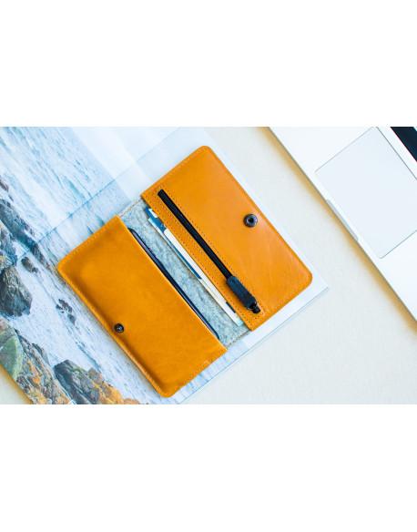Peněženka pro iPhone Xs & X  - SEVEN (Brown)
