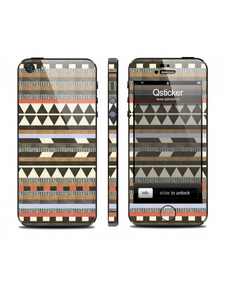 Samolepka pro iPhone SE/5s/5 - Aztec