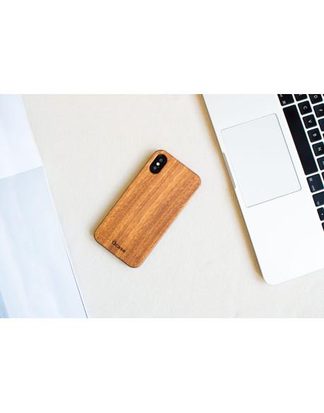 Dřevěný kryt pro iPhone X & Xs - Zebrano