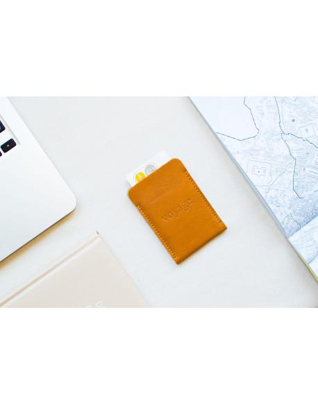 Mini peněženka // BORT (Brown)