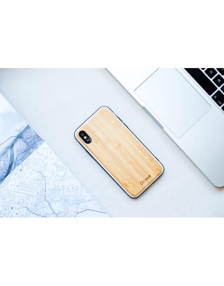 Dřevěný kryt pro iPhone X - Bamboo