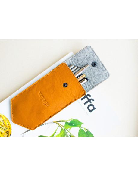 Penál na tužky // DRAFT (Brown)