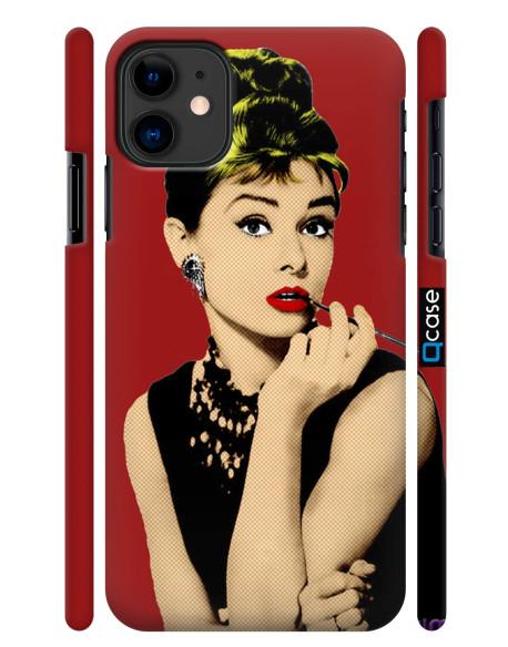 Kryt pro iPhone 11 - Audrey Hepburn