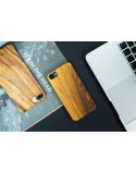 Dřevěný kryt pro iPhone 7 Plus - Rosewood