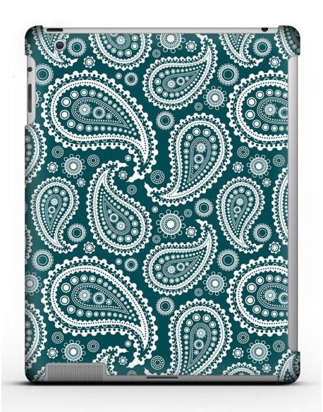 Kryt pro iPad 4 // Paisley blue