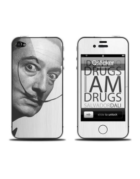 Samolepka pro iPhone 4/4S - Dali